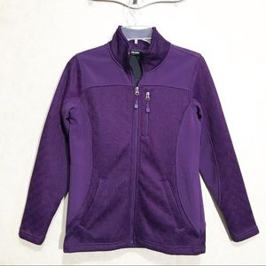 Swiss Tech Purple Athletic Jacket